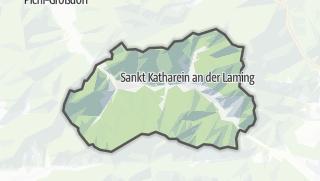 Cartina / Sankt Katharein an der Laming