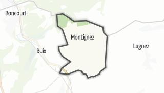 מפה / Montignez