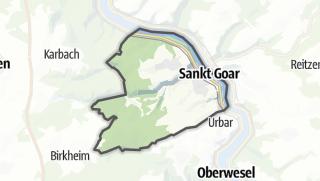 Karte / Sankt Goar