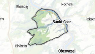 Map / Sankt Goar