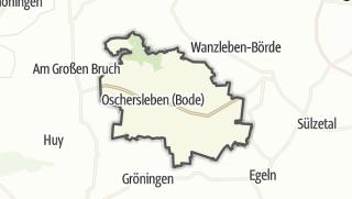 地图 / Oschersleben (Bode)