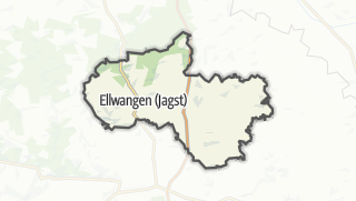 地图 / Ellwangen (Jagst)