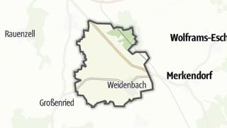 Map / Weidenbach