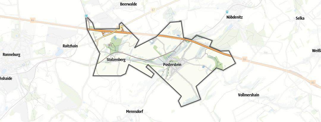 מפה / טיולים רגליים בPosterstein