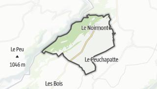Mapa / Le Noirmont