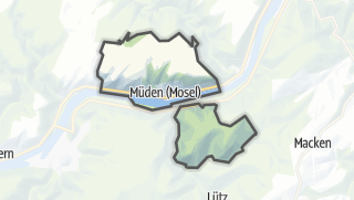 Karte / Müden (Mosel)