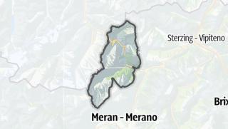 Karte / Moos in Passeier