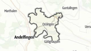 Kart / Ossingen