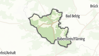 Mapa / Wiesenburg/Mark