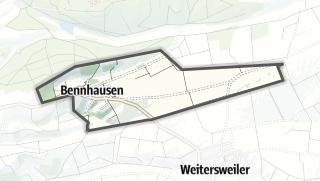 Karte / Bennhausen