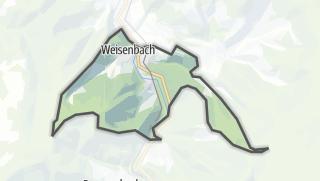 Mapa / Weisenbach