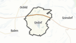 Karte / Gindorf