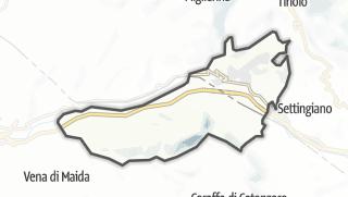 Mapa / Marcellinara