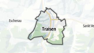Mapa / Traisen