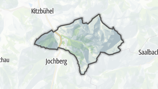 Map / Aurach near Kitzbuehel