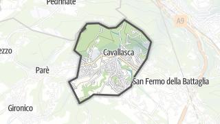 Kartta / Cavallasca