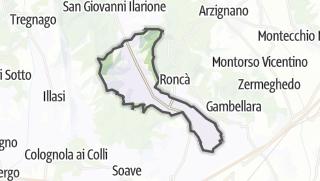 Kartta / Montecchia di Crosara