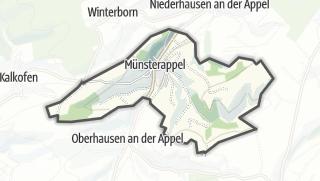 Cartina / Münsterappel