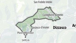 Hartă / Castiglione d'Intelvi