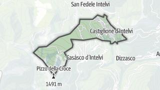 Kartta / Castiglione d'Intelvi