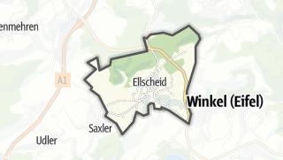 Karte / Ellscheid