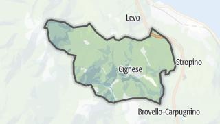 מפה / Gignese