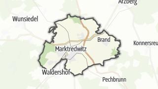 מפה / Marktredwitz