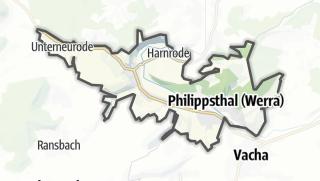 Karte / Philippsthal (Werra)