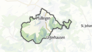 Karte / Pfullingen