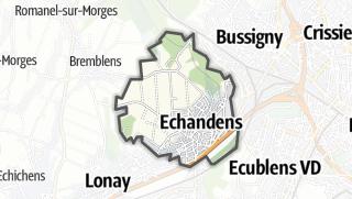 Mapa / Echandens