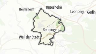 Mapa / Renningen
