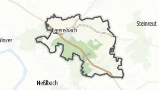 地图 / Iggensbach
