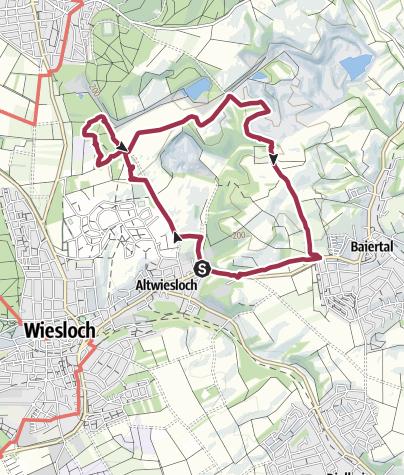 Karte / Steinbruchrunde