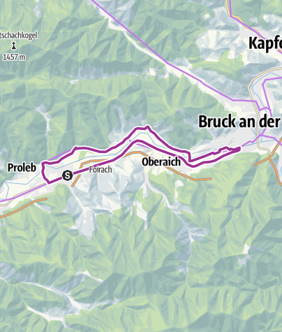 Karte / Bruckrunde
