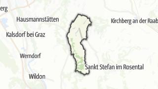 מפה / Pirching am Traubenberg