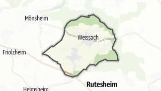 Mapa / Weissach