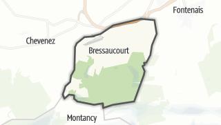 מפה / Bressaucourt