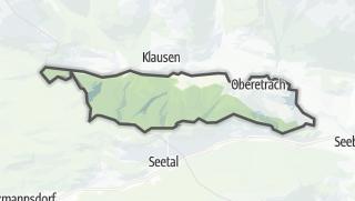 Mapa / Krakauschatten