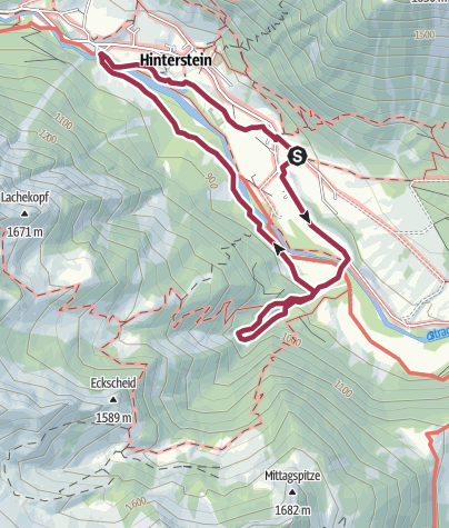 Karte / Höllrunde - Teufelsgesicht - Kutschenmuseum