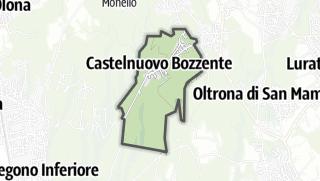 Hartă / Castelnuovo Bozzente