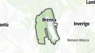 Hartă / Brenna
