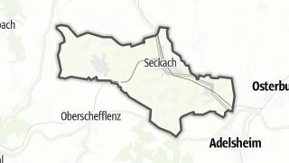 Cartina / Seckach