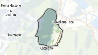 מפה / Casale Corte Cerro