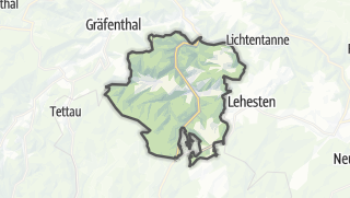 Mapa / Ludwigsstadt