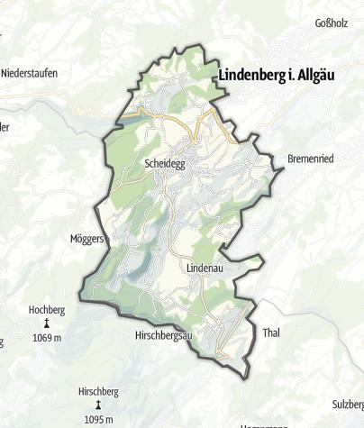 Map / Scheidegg