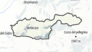Mapa / Verbicaro