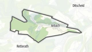 Karte / Arbach