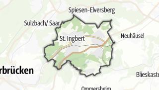 Cartina / Sankt Ingbert