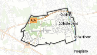 Mapa / Solbiate Olona