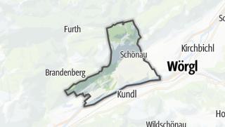 מפה / Breitenbach am Inn
